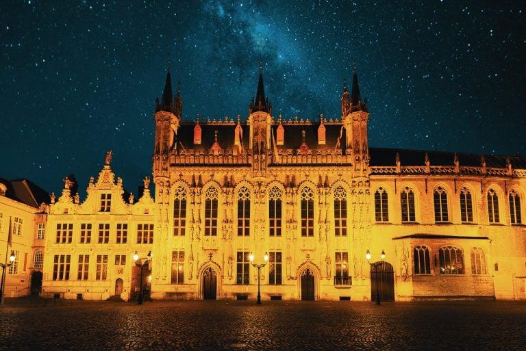 Belfry of Bruges and medieval old town - Bruges, Belgium